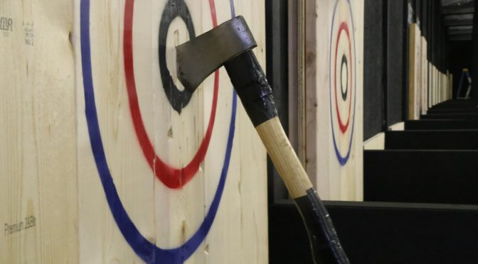 Couples Event – Halloween Axe Throwing