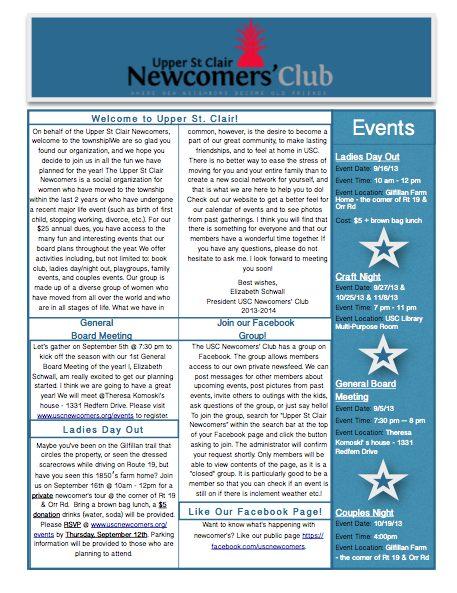 newcomersNewsSept2013