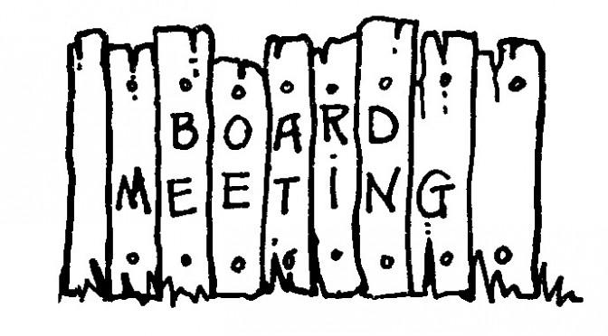 February Board Meeting