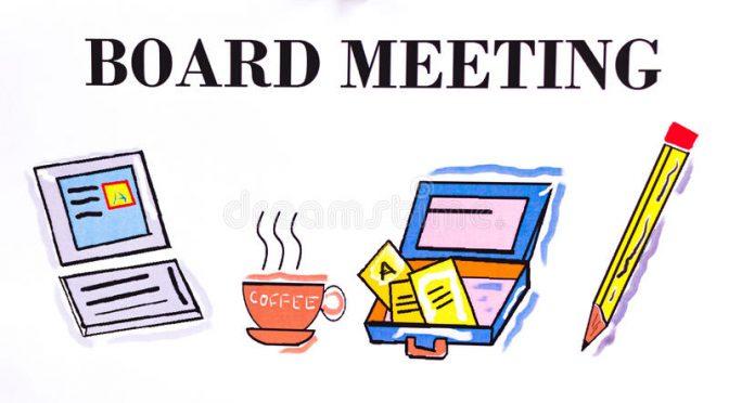 June Board Meeting (Changeover)