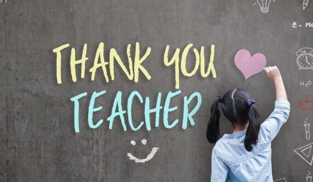 Teacher/Admin Appreciation